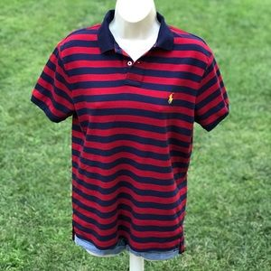 Polo Ralph Lauren Classic Stripped pony Logo Shirt